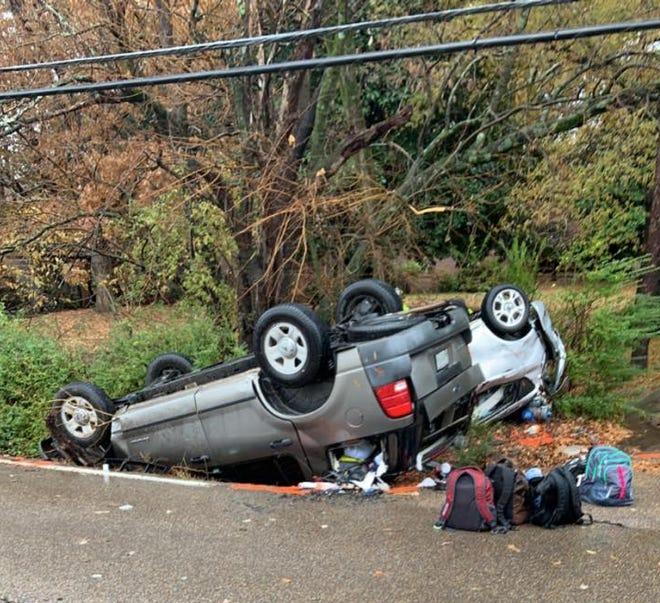 Jackson Police are investigating a fatal crash on North Highland Avenue on Nov. 22, 2019.