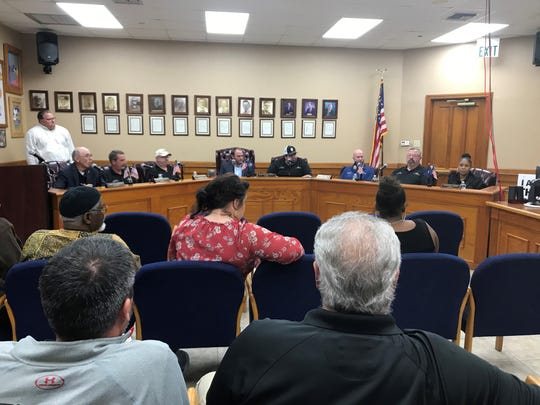 A Church Point city council special meeting was held on Nov. 21, 2019, to discuss the Church Point Police chief and his officers walking out of traffic court.