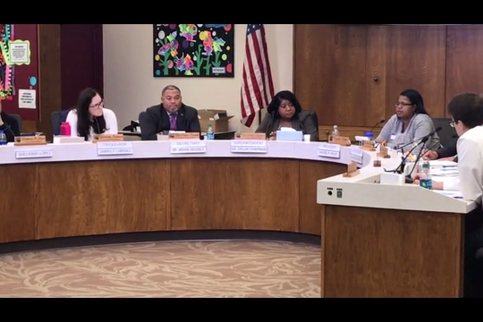 The Lansing School Board voted to open their superintendent search at an open meeting last November.
