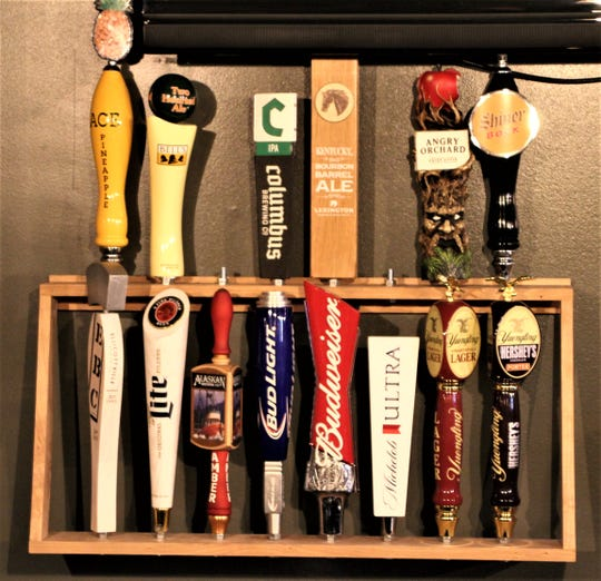 Craft beers on tap are a hit with customers at O'Dea's Pub.