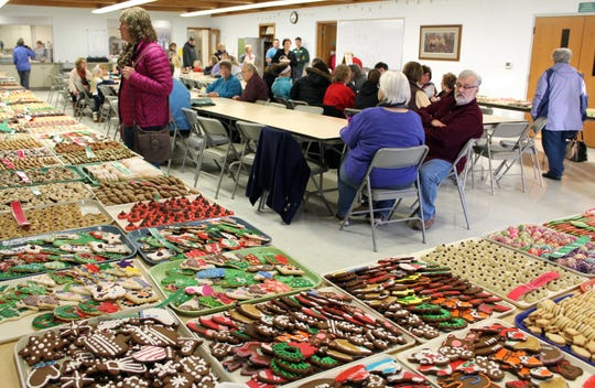 This year's cookie sale will be held at the church Dec. 7-8.