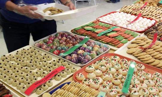 More than 150 different kinds of cookies are sold for $7.50 a pound.