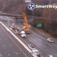 The eastbound lanes of Interstate 24 is expected to remain closed Friday, Nov. 22, 2019 after a fatal crash damaged an overhead display.