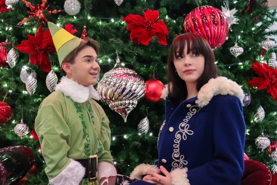 Pictured, from left, Zachery Strange as Buddy and Jillian Cook as Jovie.