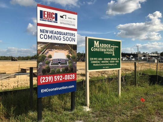 Moving its headquarters from Collier to Lee County, EHC Inc. is building at Canal and Van Buren streets in Fort Myers.
