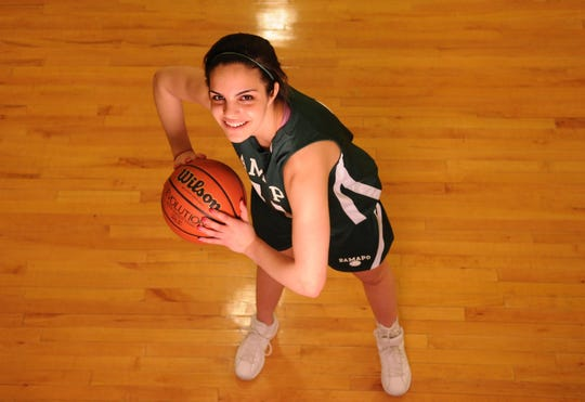 Franklin Lakes 3/22/2010 -- Girls basketball player of the year Sarah Halejian, of Ramapo.  TYSON TRISH/STAFF PHOTOGRAPHER