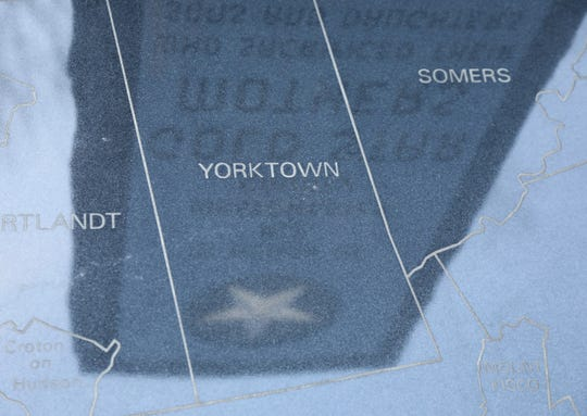 A monument dedicated to Gold Star Mothers is reflected in map that depicts Westchester County is part of Lasdon Park Arboretum and Veterans Memorial that is dedicated to the Westchester County residents who served in the military and took part in all American wars. The town of Somers survives as one of only two Republican districts in Westchester County, NY.
