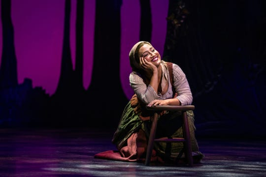 Rodgers and Hammerstein's Cinderella at Paper Mill Playhouse. Ashley Blanchet as Ella.