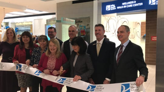 Valley Health System opened a walk-in care center inside Westfield's Garden State Plaza earlier this week. Local officials on Fri., Nov. 22, 2019, gathered at the site to celebrate what is the health system's first facility inside a mall.