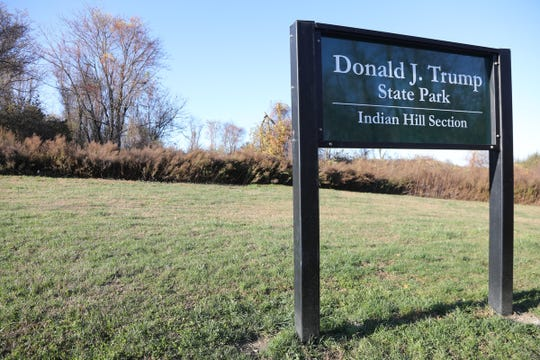 The entrance to the over 400 acres at Donald J. Trump State Park in the town of Putnam Valley. In 2006 Donald Trump donated the property, that he had purchased in the 1990's, to the state of New York. He had planned to build a golf course with the property when he purchased it but couldn't get approval from neighboring towns.