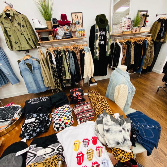 Hunt & Orchard in Westwood sells edgy clothing for an affordable price.