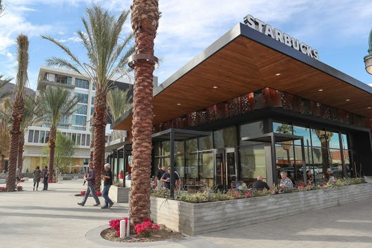 The Starbucks Reserve in downtown Palm Springs.