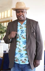 """Former boxing world heavyweight champion, James """"Buster"""" Douglas, is photographed at Fantasy Springs Resort Casino in Indio, Calif., on November 22, 2019. Buster beat Mike Tyson in 1990 in what was one of the biggest upsets in sport history."""