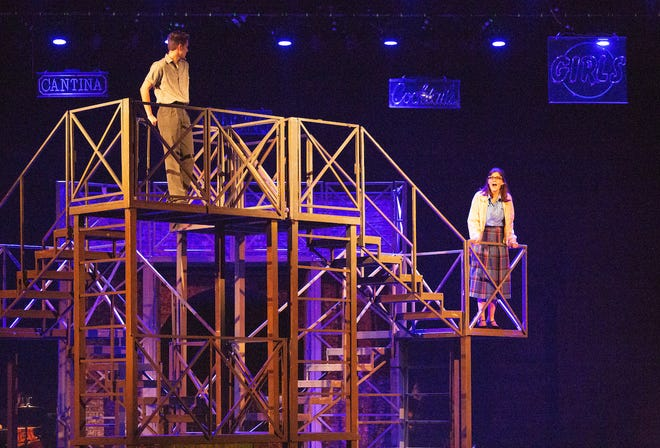 """Musical Theatre University produced """"Dogfight"""" last year."""