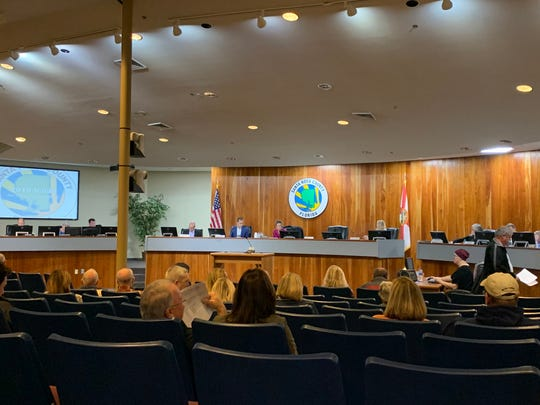 Members of the new Santa Rosa County zoning board met Thursday or the first time at the county chambers in Milton.