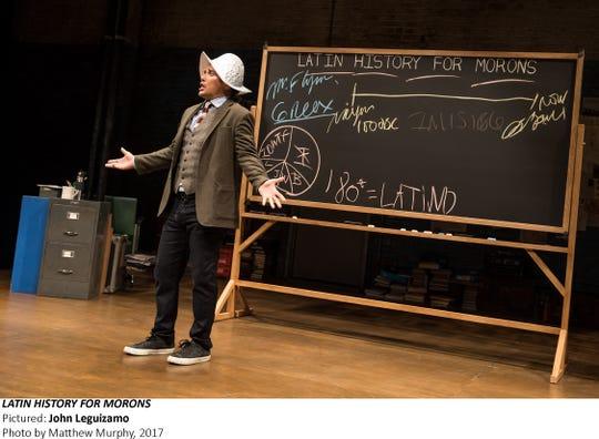 "John Leguizamo in ""Latin History for Morons"" (2017)."