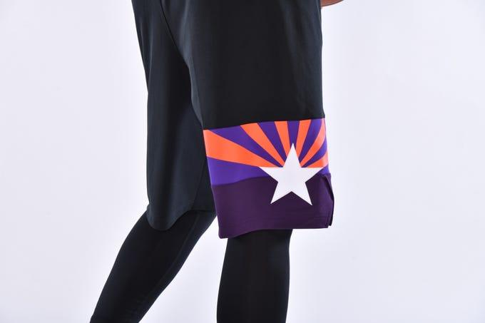 Los Suns Noche City Edition uniform for the 2019-20 season.