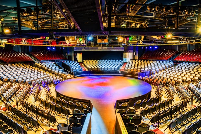 Celebrity Theatre features a 2,650-person circular setup that provides a unique viewing experience for every theatregoer.