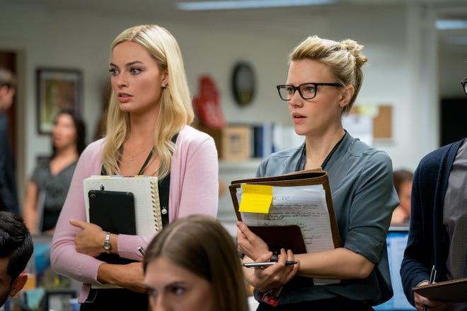 """Margot Robbie (left) and Kate McKinnon star in """"Bombshell."""""""