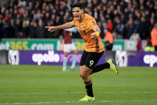 Raúl Jiménez, todo un ídolo en el Wolverhampton.