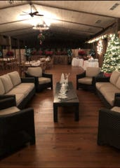 Consider celebrating the holiday season at the Old Drovers Inn in Dover Plains. The Preston Barn, pictured here, will host a New Year's Eve celebration.