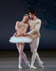 "Presented by New Paltz Ballet Theatre, ""The Nutcracker,"" featuring New York City Ballet dancers Teresa Reichlen and Russell Janzen, will be staged at the Bardavon in Poughkeepsie, Dec. 14-15."