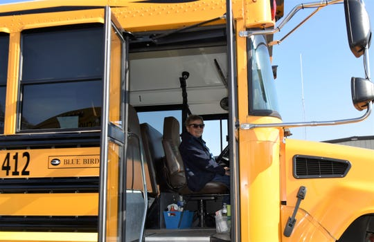 Sue Bumbaugh has been a bus driver for nearly 40 years in the Chambersburg School District. She said she makes it a priority to continually go over safety tips with the children who ride her bus.