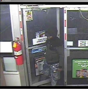 The Northern York Regional Police Department is searching for a man who police say committed an armed robbery at a Dover Township Turkey HIll