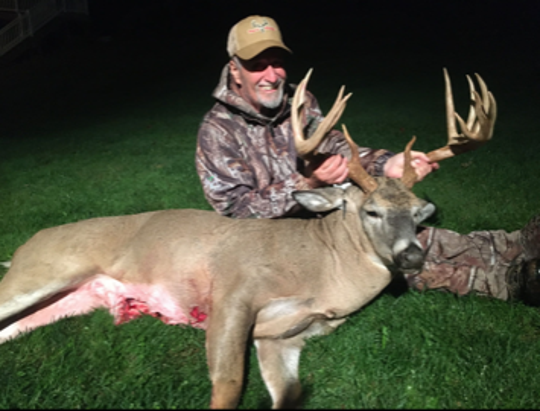Charles Shaffer of Spring Grove harvested this 13-point buck in October in York County.