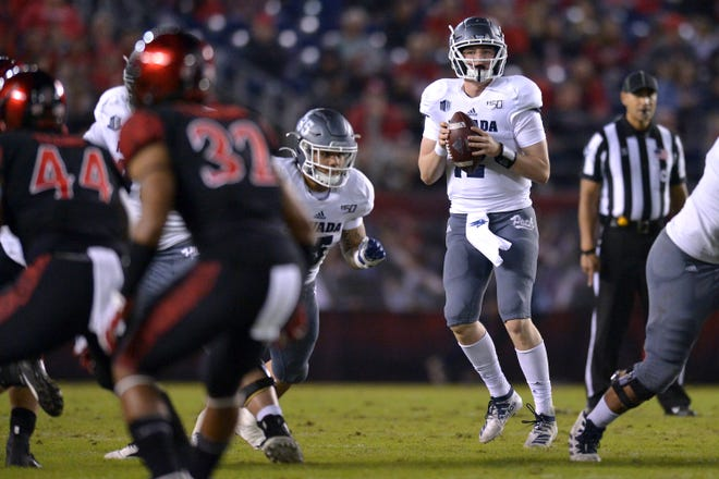 Carson Strong and his Nevada teammates have won two straight games heading into Saturday night's matchup with Fresno State.
