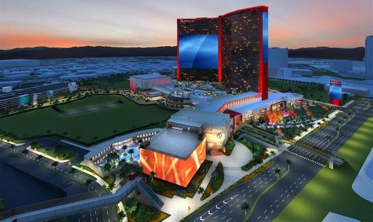 Resorts World Las Vegas has unveiled updated plans for the US$4.3 billion luxury resort-casino.