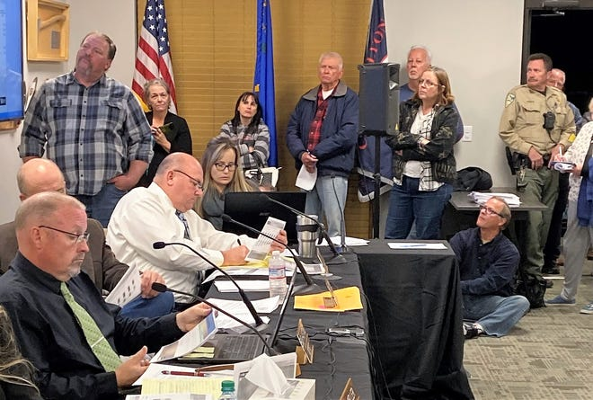 It was standing  room only in Dayton as county commissioners approved a substantial rate hike for customers to help pay for aging infrastructure.