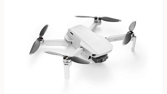 The DJI Mavic Mini lightweight drone.