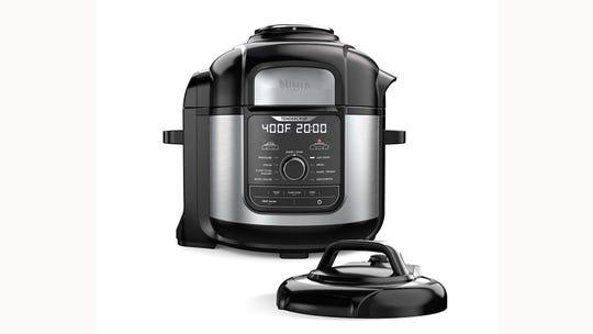 The Ninja Foodi all-purpose cooker.