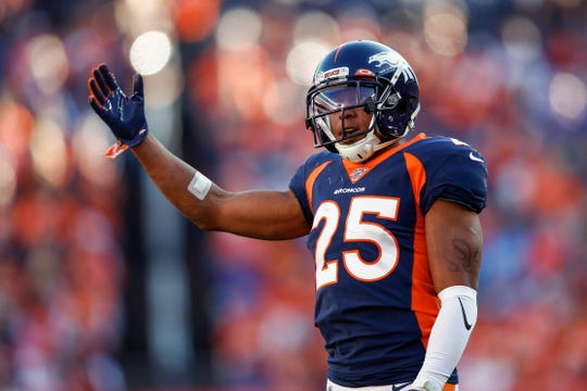 Denver Broncos cornerback Chris Harris Jr. is one of the best in the league and he'll probably be covering John Brown.