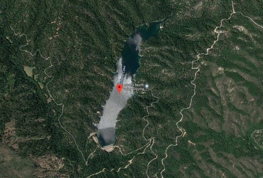 Rainbow Lake in western Shasta County covers 113 acres.