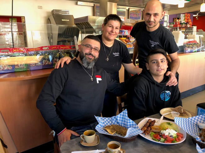 The family that owns and operates the highly-rated Anthony's Mediterranean Cuisine on Eureka Way in west Redding.