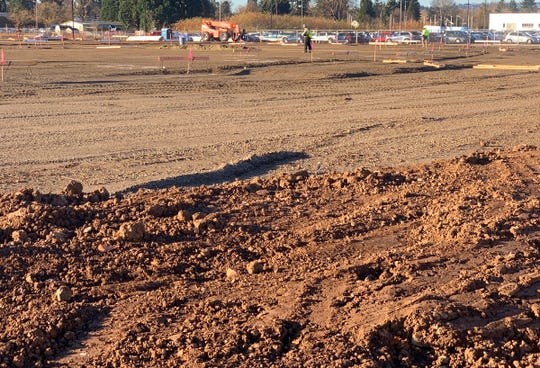 Construction is underway at the new Capitol Auto Group's new 70,000-square-foot Capitol Subaru dealership.