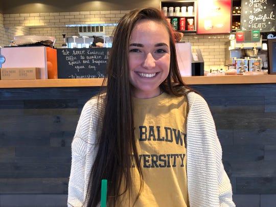Jada Keene, a Waynesboro senior, will be playing volleyball for Mary Baldwin next season.
