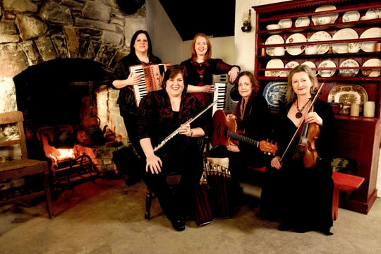 The Cherish the Ladies: A Celtic Christmas performance begins at 7:30 p.m. Dec. 5 in Escher Auditorium on the College of St. Benedict campus.
