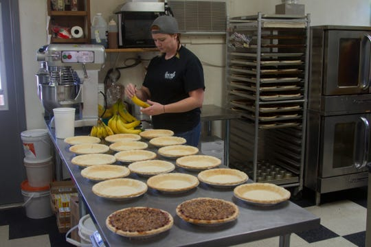 Veyo Pies owner Devaney Lomenick talks about the Thanksgiving rush and what goes into the famous Veyo pies Friday, Nov. 22, 2019.