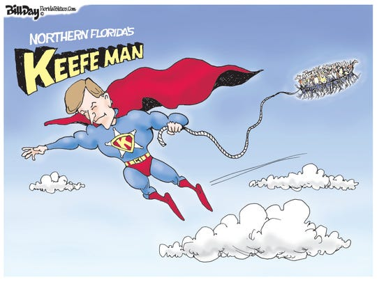 North Florida's Keefeman