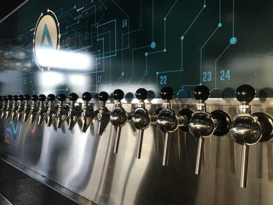 Aurellia's Bottle Shop & Brewhouse uses an innovative technology with electricity for its brewing.