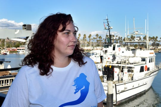 "Alexandria McIntyre, 23, of Victorville, was among a group of Waves Project participants who spent four days scuba diving and doing underwater research at the Channel Islands National Park. The Army veteran described her experience with the project as ""life changing."""