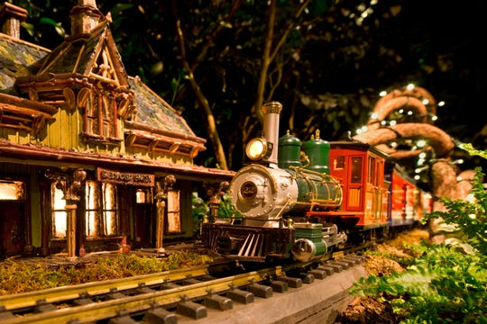 The New York Botanical Garden's annual Holiday Train Show.