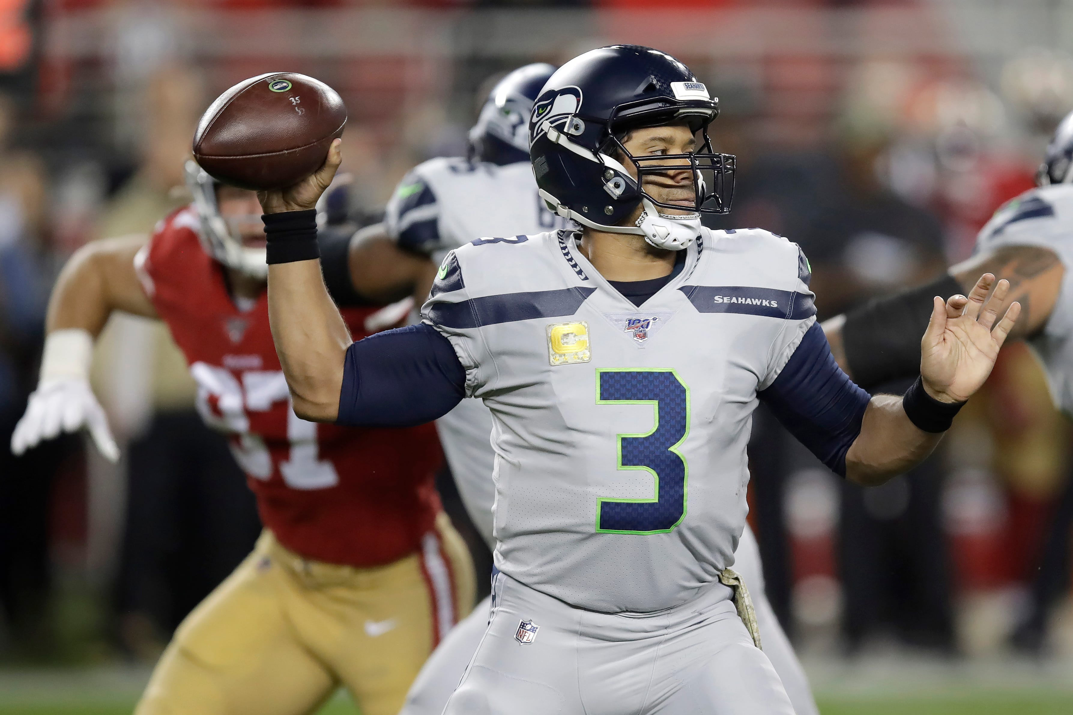 Eagles Preview Seahawks Russell Wilson Having An Mvp Season