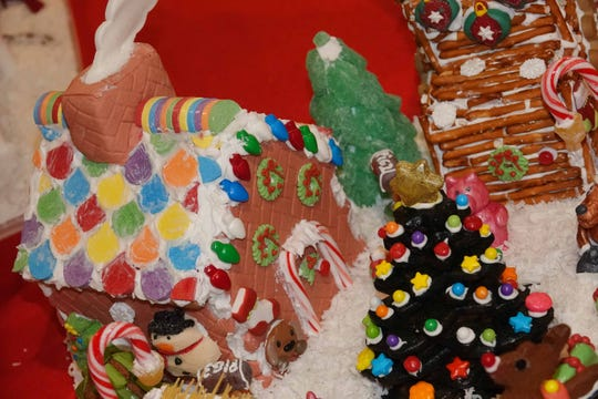 Families can build and design their own gingerbread house to take home with them on Dec. 11, 2019 at the Rancho Mirage Library.