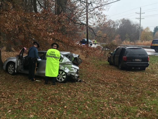 Delaware State Police are currently investigating a serious accident involving three vehicles on Welsh Tract and Otts Chapel roads.