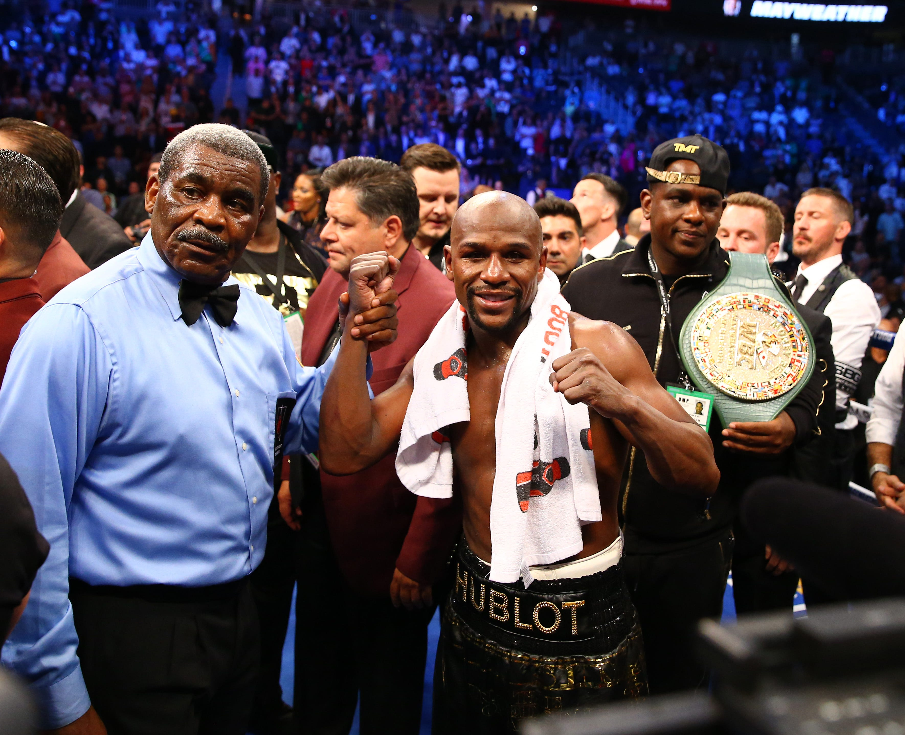 Why Floyd Mayweather's comeback is about more than just money