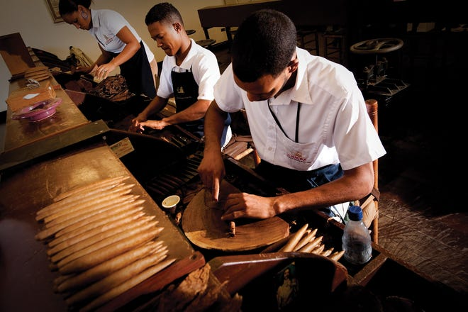 Travelers can get an up-close look at the Dominican Republic's cigar production by visiting one of the country's cigar factories.